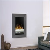 Dimplex Electraflame Wall Mount Electric Fireplace in Gunmetal