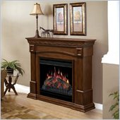 Dimplex 20 Inch Electric Fireplace in Burnished Walnut