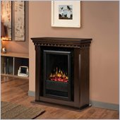 Dimplex Bravado II Indoor Electric Fireplace in Espresso