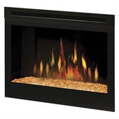 Dimplex 25 Self-trimming Electric Firebox with Glass Ember Bed