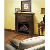 Dimplex Acadian Electric Fireplace in Walnut