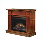 Dimplex Allendale Electric Fireplace in Mission Oak