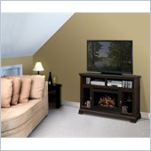 Dimplex Brookings Electric Fireplace Media Console in Espresso