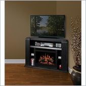 Dimplex Cloverdale Media Mantel in Black