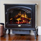 Dimplex Deluxe Electric Stove in Gloss Black
