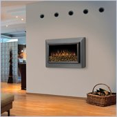 Dimplex Pelham Wall-Mount Electric Fireplace in Pewter Grey