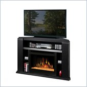 Dimplex Cloverdale Electric Fireplace Compact Console in Black