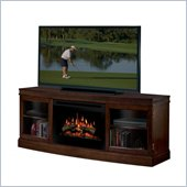 Dimplex Wickford Electric Fireplace Media Console in Walnut