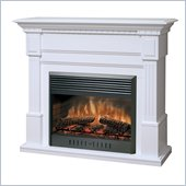 Dimplex Sussex Mantel Electric Fireplace in White