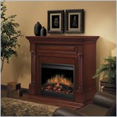 Dimplex Timothy Mantel Electric Fireplace in Burnished Walnut