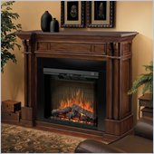 Dimplex Kendal Mantel Electric Fireplace in Burnished Walnut