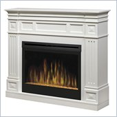 Dimplex Traditional 33 Electric Ember Fireplace in White