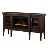 Dimplex Upton Electric Ember Fireplace in Espresso