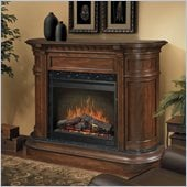 Dimplex Symphony Ovation Carlyle Free Standing Electric Fireplace in Walnut