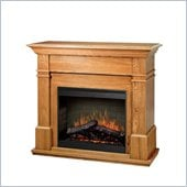 Dimplex Symphony Maestro Kenton Free Standing Electric Fireplace in Oak