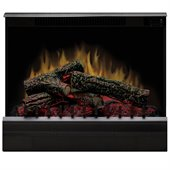 Dimplex Electraflame Electric Fireplace Heater Insert in Black Finish