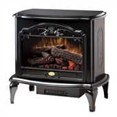 Dimplex Celeste Freestanding Electric Stove in Gloss Black