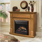 Dimplex Preston Free Standing Electric Fireplace in Oak
