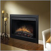 Dimplex Electraflame 39 Inch Built In Electric Fireplace with Purifire Air Treatment System