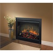 Dimplex Electraflame 33 Inch Built In Electric Fireplace with Purifire Air Treatment System