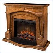 Dimplex Hampton Free Standing Electric Fireplace in Oak