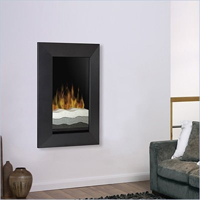 Dimplex Electraflame Wall Mount Electric Fireplace in Black