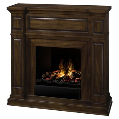 Dimplex Renwick OptiMyst Fireplace in Burnished Walnut Finish