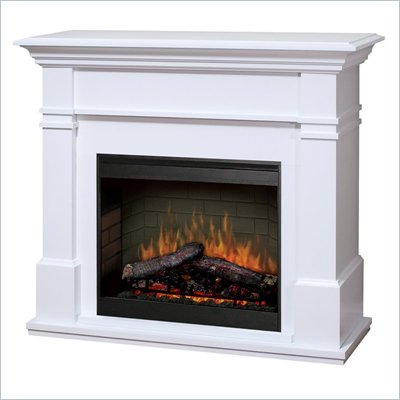 Dimplex Symphony Maestro Kenton Free Standing Electric Fireplace in White