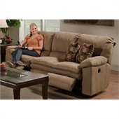 Catnapper Impulse Reclining Sofa in Cafe and Espresso