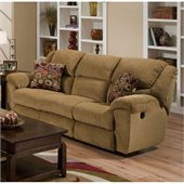 Catnapper Transformer Ultimate Reclining Sofa in Beige and Havana
