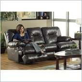 Catnapper Cortez Reclining Sofa in Dark Brown Bonded Leather
