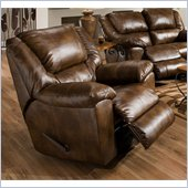Catnapper Transformer Chaise Swivel Glider Recliner Chair in Toast
