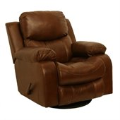 Catnapper Dallas Swivel Glider Recliner in Tobacco