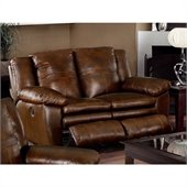 Catnapper Sonoma Reclining Loveseat in Sable
