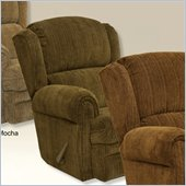 Catnapper Kirkland Rocker Recliner Chair in Chocolate
