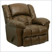 Catnapper Winchester Bonded Leather Rocker Recliner Chair in Tanner