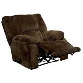 Catnapper Hogan Inch Away Wall Hugger Recliner Chair in Chocolate
