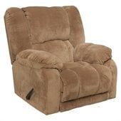 Catnapper Hogan Inch Away Wall Hugger Recliner Chair in Camel