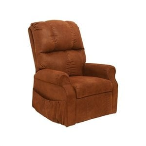 Catnapper Somerset Power Lift Lounger Recliner Chair in Mahogany