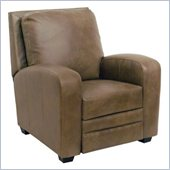 Catnapper Avanti Bonded Leather No Handle Reclining Chair in Mink