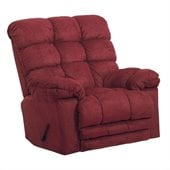Catnapper Magnum Chaise Rocker Recliner Chair in Merlot