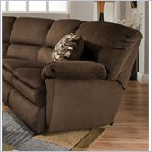 Catnapper Falcon Rocker Recliner in Chocolate