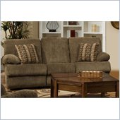 Catnapper Harbor Reclining Sofa in Tobacco and Merlot
