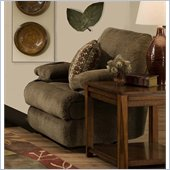 Catnapper Harbor Chaise Rocker Recliner Chair in Tobacco