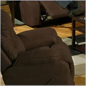 Catnapper Compass Glider Recliner in Espresso
