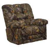Catnapper Cloud Nine Chaise Rocker Recliner Chair in Mossy Oak