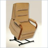 Catnapper Emerson Power Lift Full Lay-Out Recliner Chair in Tan