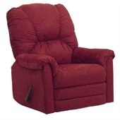 Catnapper Winner Oversized Rocker Recliner Chair in Sangria