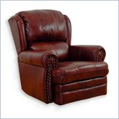 Catnapper Buckingham Oversized Rocker Recliner Chair in Chestnut