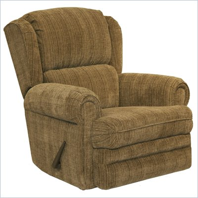 Catnapper Kirkland Rocker Recliner Chair in Mocha